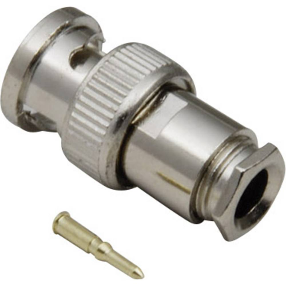BNC-vtič, raven 50 BKL Electronic 0401020/D 1 kos