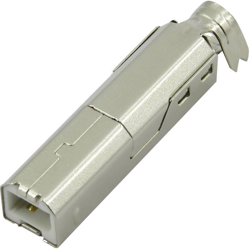 USB B vtikač, raven Connfly vsebina: 1 kos
