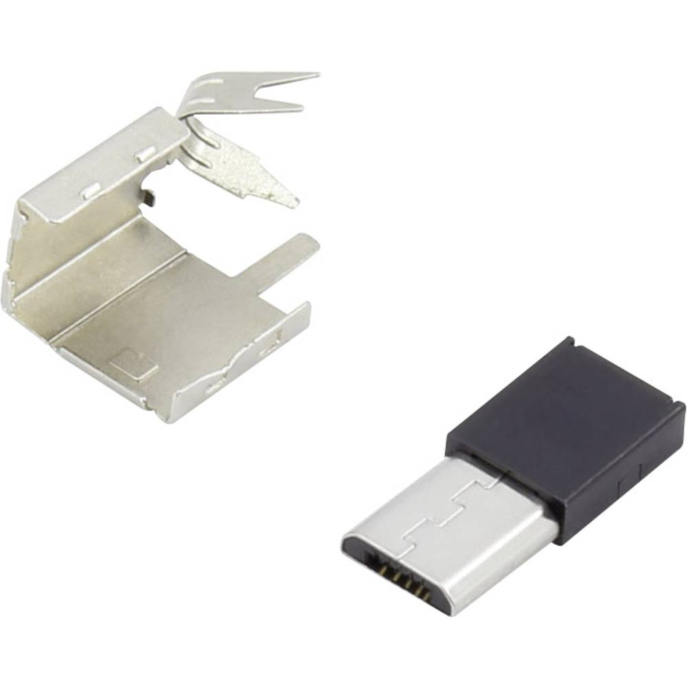 93013c1131 Mirco-B USB Sort 1 stk