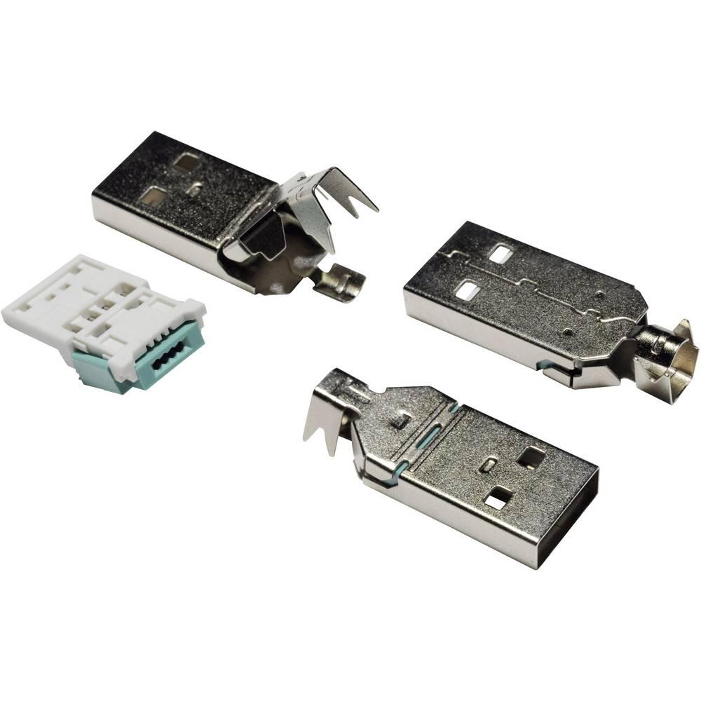 USB A vtikač 2.0 vtikač, raven 93013c1134 vsebina: 1 kos