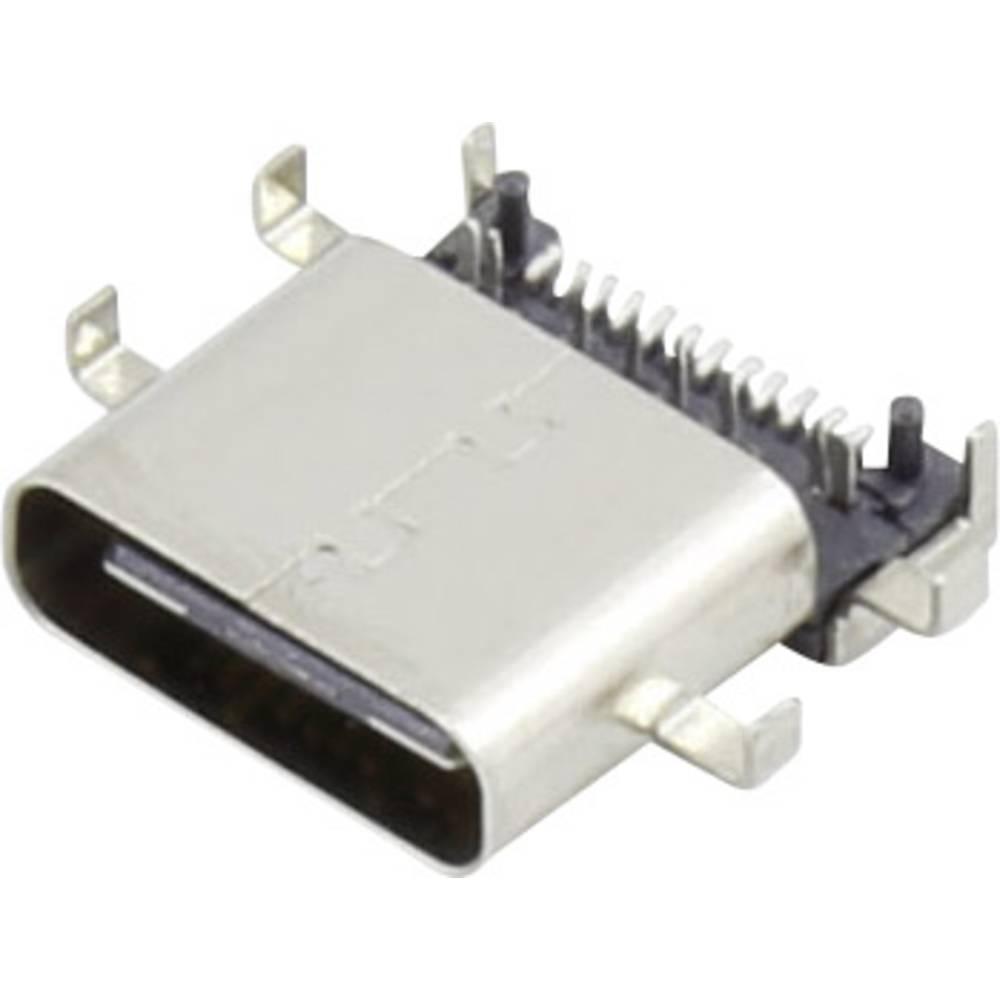 93013c1138 USB 3.1 tilslutning C Sort 1 stk