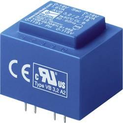El 30/12,5 PCB transformator, primarni: 2 x 115 VAC, sekundarni: 2 x 12 VAC 2 x 62 mA 1.50 VA AVB 1,5/2/12 blok