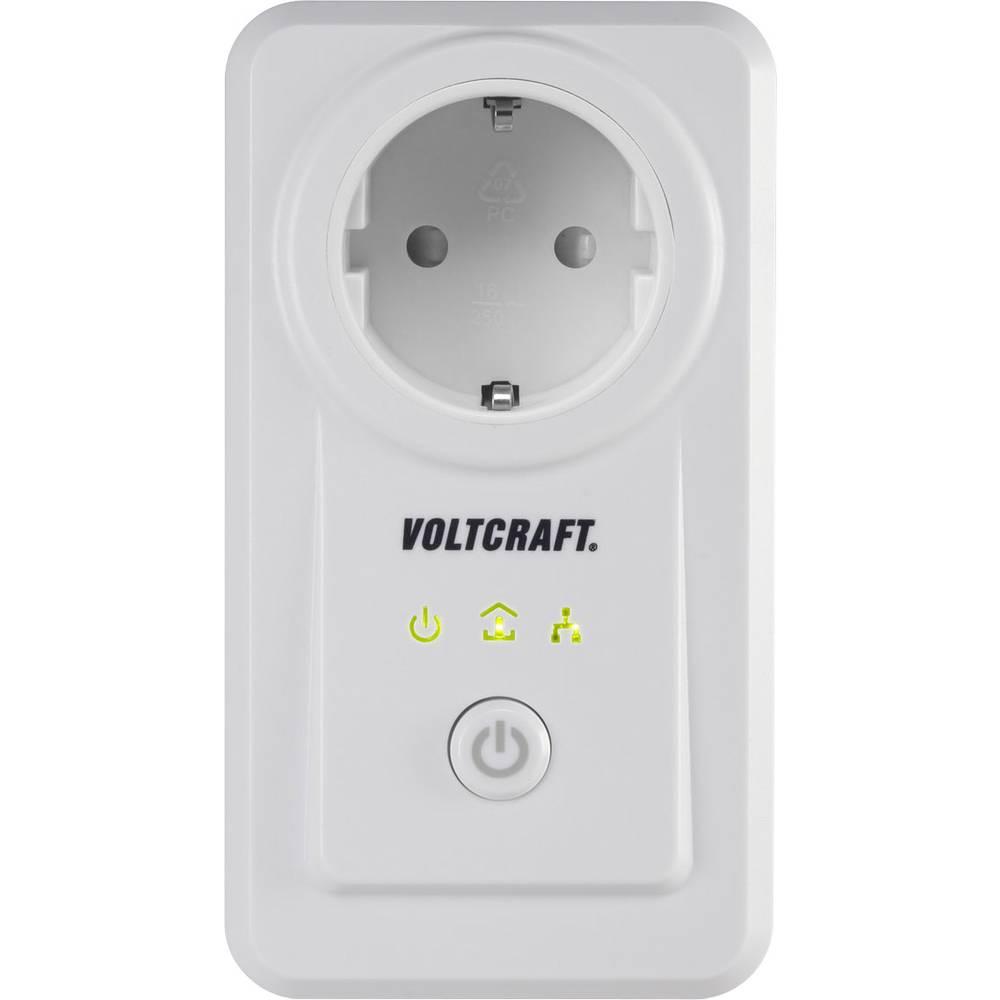 Mjerač energetskih troškova VOLTCRAFT PLC3000 DE Powerline, s aplikacijskim upravljanjem, funkcija alarma, izvoz podataka, grafi