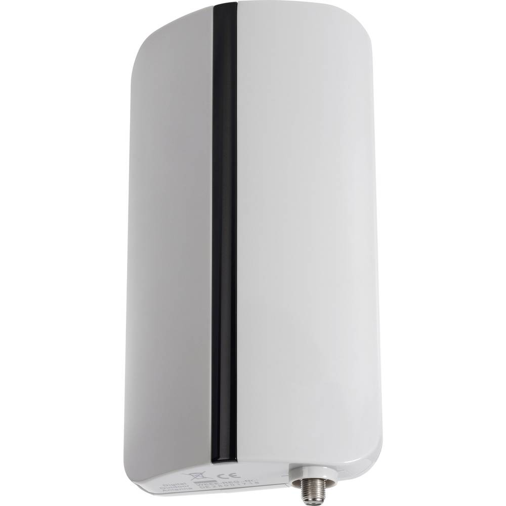 Aktivna DVB-T/T2 krovna antena Renkforce vanjska, pojačanje: 20 dB siva