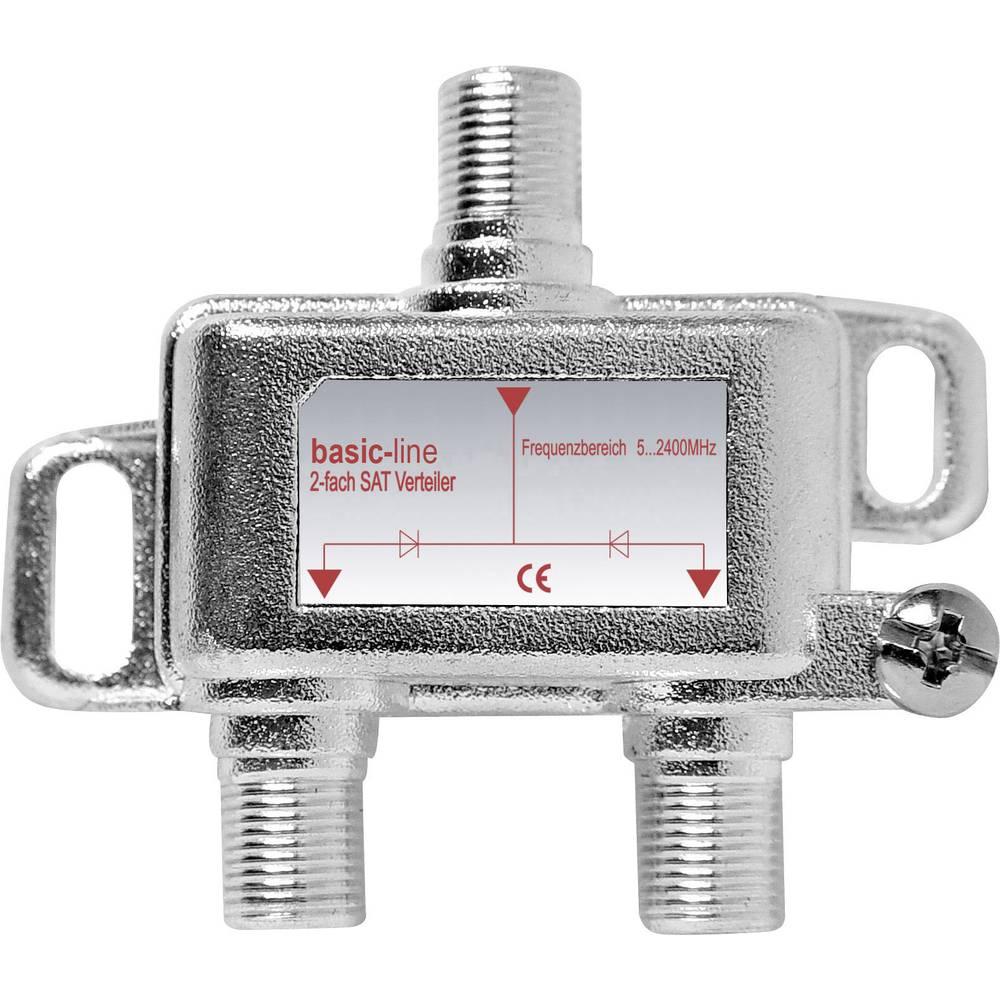 SAT razdjelnik Renkforce 28455C4E 2-dijelni 5 - 2200 MHz