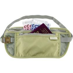 Torba za jermen Highlander Double Pocket Money Belt olivne barve MB102