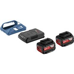 Bosch Wireless Charging sistem, delovni akumulator 2 x 18 V/4 Ah + indukcijska polnilna postaja 1600A00C46
