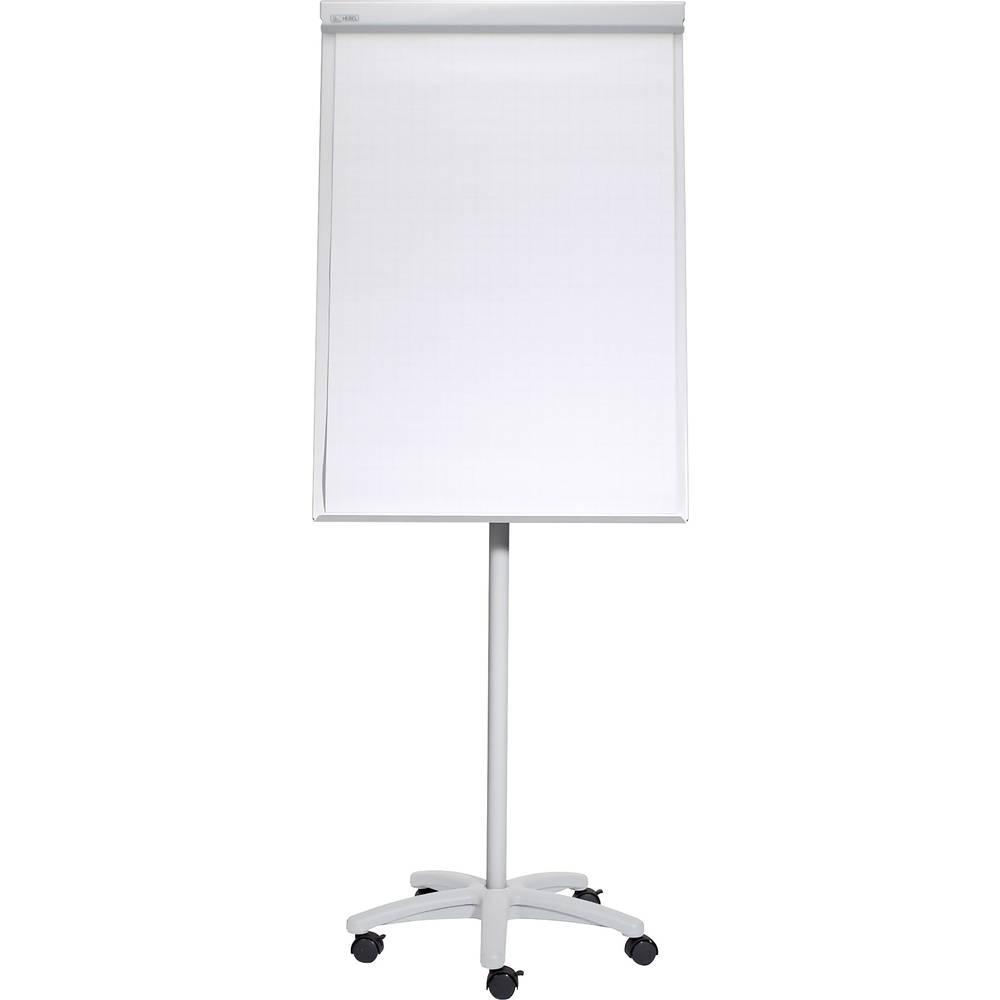 Maul Mobilna flipchart tabla MAULoffice (Š x V) 70 cm x 100 cm Siva Vklj. pladenj, Nastavljiva po višini, Magnetna, Vklj. nosilec bloka 6375582
