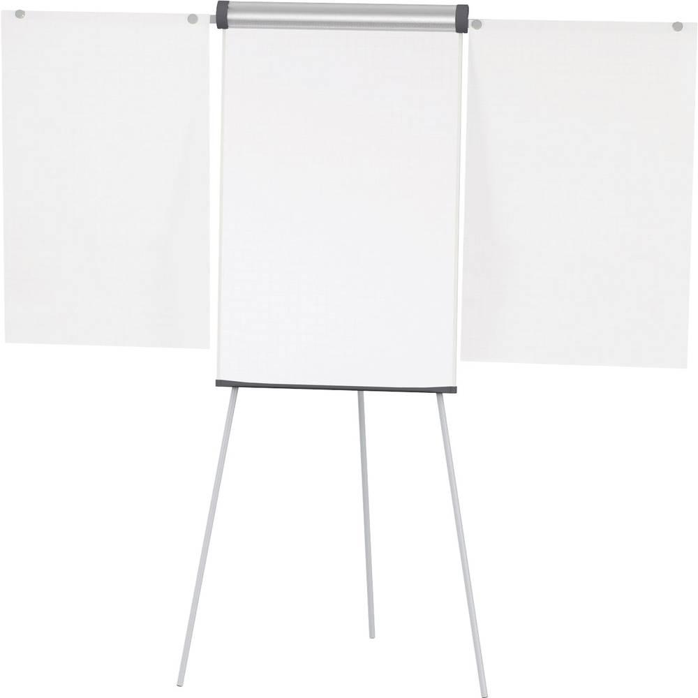Maul Flipchart tabla MAULsolid (Š x V) 66 cm x 97 cm Srebrna Vklj. pladenj, Pralna, Nastavljiva po višini, Označevalna, Magnetna, Vklj. držalo papirja, Vklj. nosilec bloka 6372482