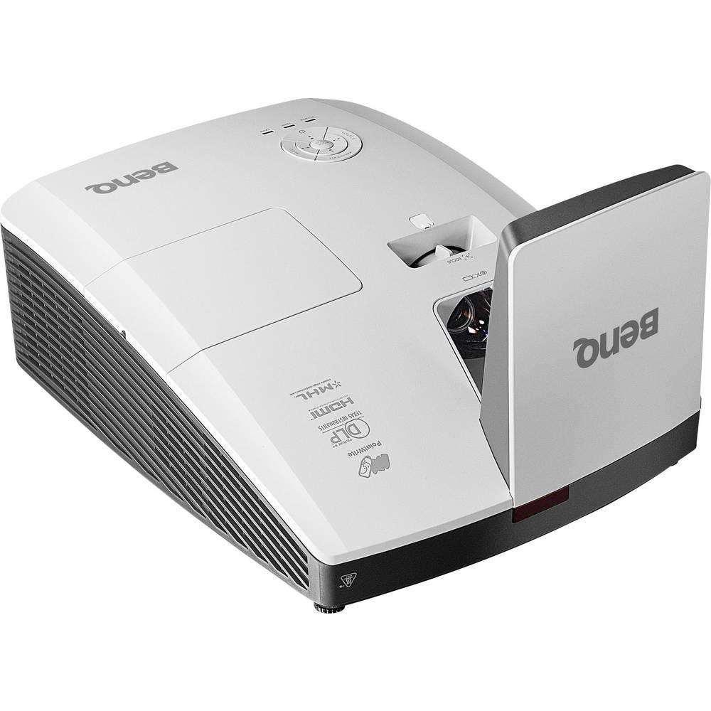 DLP projektor BenQ MH856UST svetilnost: 3500 lm 1920 x 1080 HDTV 10000: 1 bel, antracit