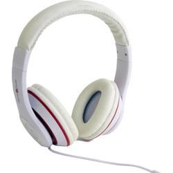 Slušalke Gembird Los Angeles On Ear naglavni komplet bela