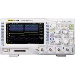 Kal. DAkkS-digitalni osciloskop Rigol 100 MHz 4-kanalni 250 MSa/s 3 Mpts 8 Bit kalibracija narejena po DAkkS digitalnem pomnilni