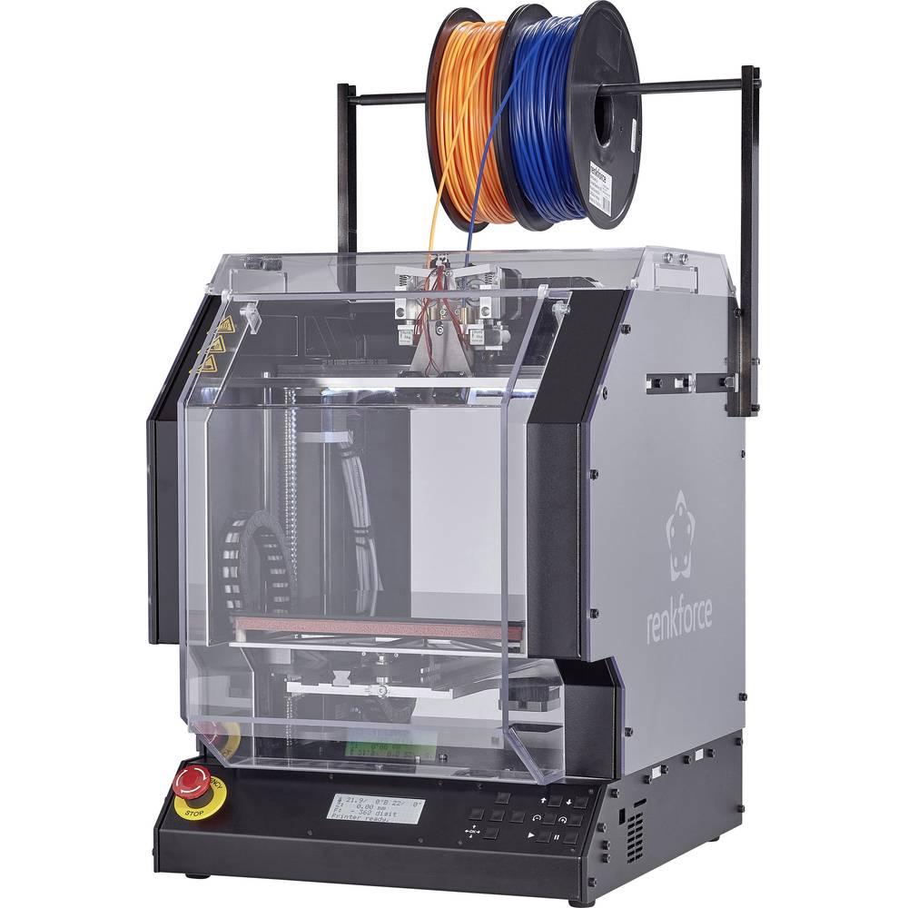 Overdækning af polycarbonat til 3D-printerne Renkforce RF2000 og RF1000 Renkforce Renkforce RF2000, Renkforce RF1000