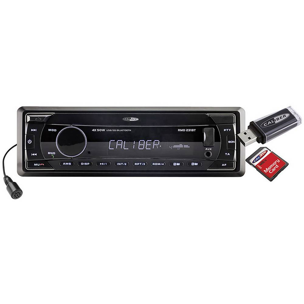 Autoradio Caliber Audio Technology RMD 231BT