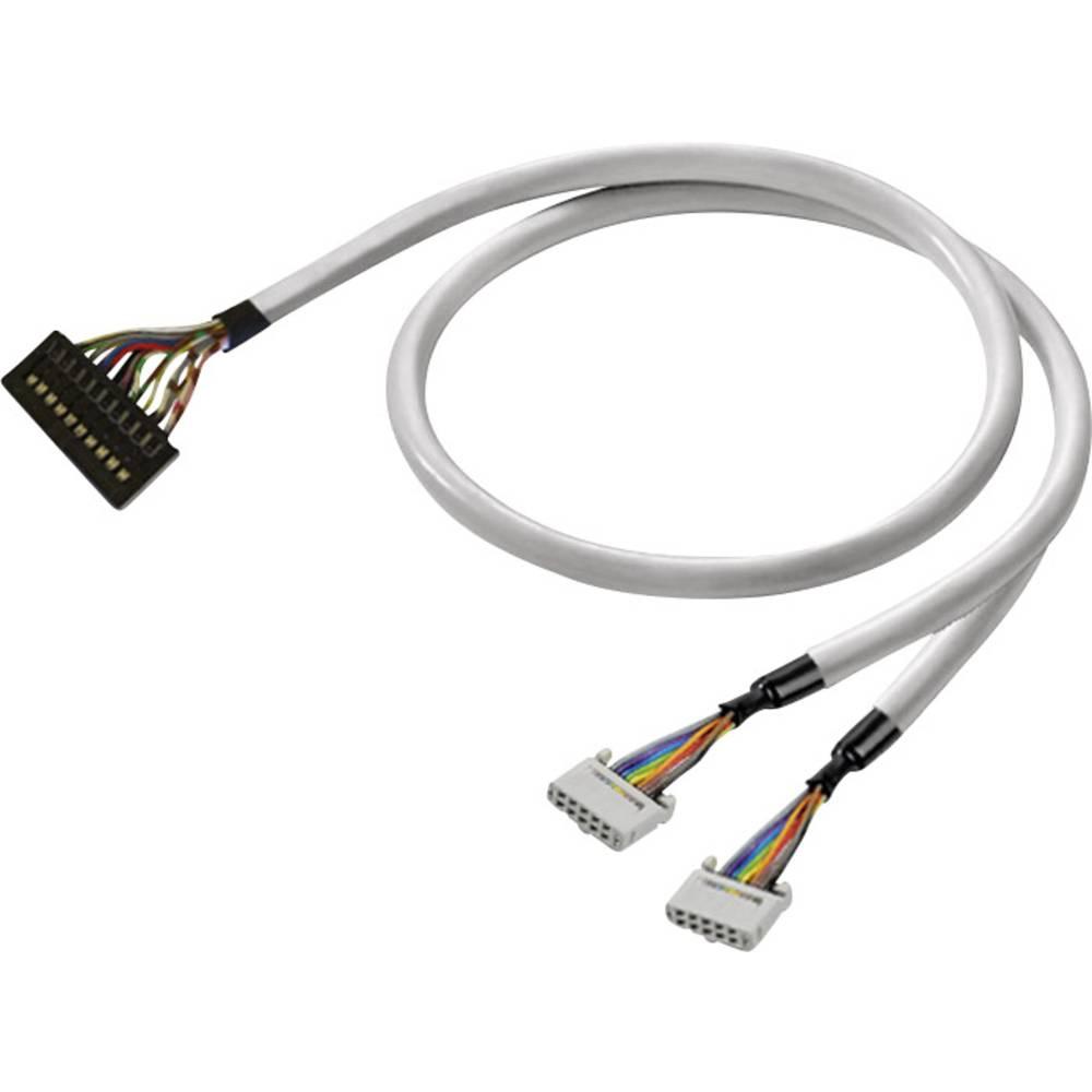 Predpripravljen podatkovni kabel PAC-PREM-2X10-V1-1M Weidmüller vsebuje: 1 kos