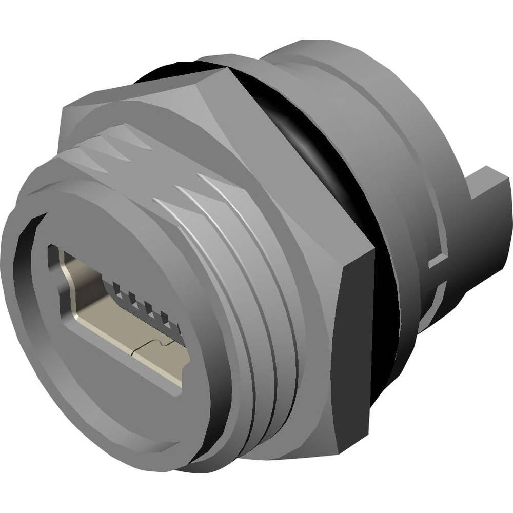 Mini-USB, B vgradna vtičnica vgradna vtičnica, 690-W05-260-044 MH Connectors vsebina: 1 kos