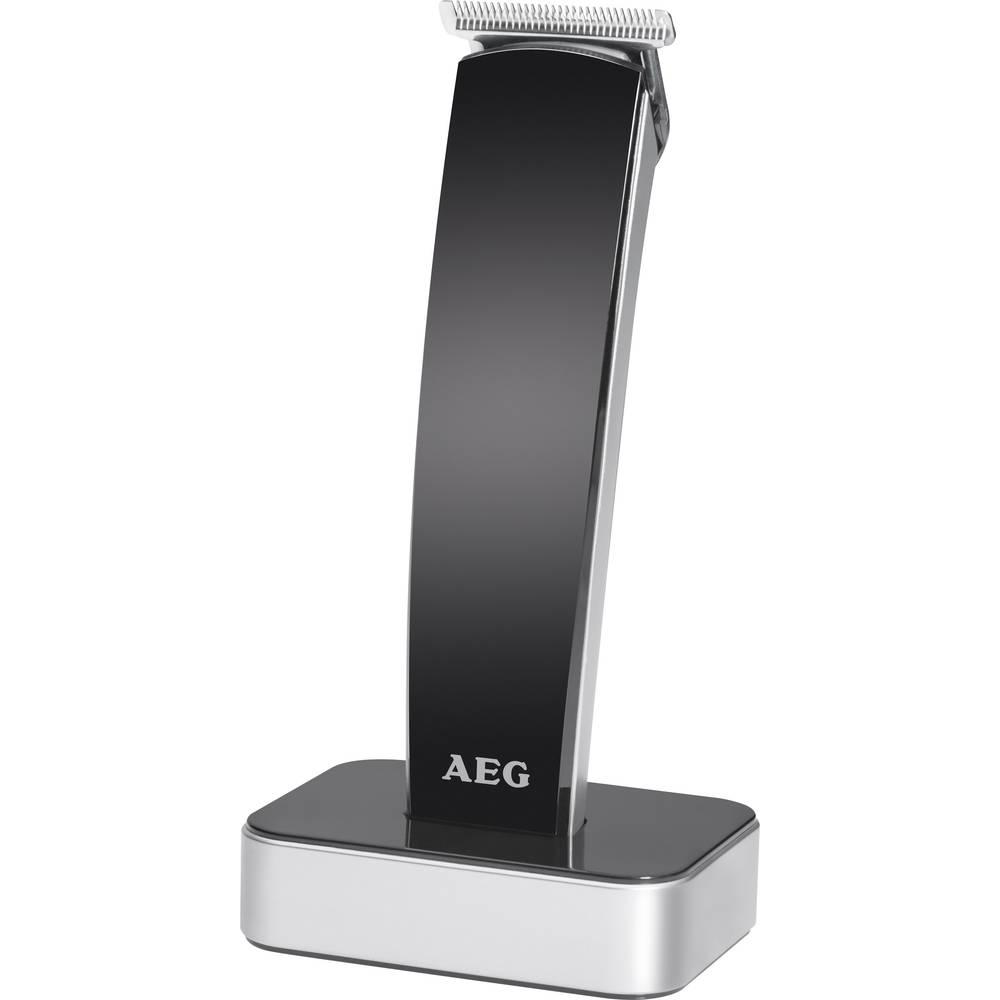 Prirezovalnik las, Brivnik za brado AEG HSM/R 5673 NE črna-srebrna