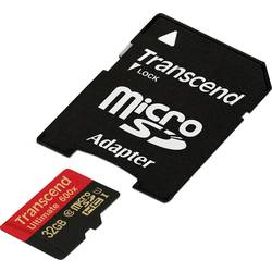 microSDHC-Kort Transcend Ultimate (600x) Class 10, UHS-I 32 GB inkl. SD-adapter