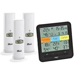 Trådlös termo-/hygrometer TFA Weatherhub SmartHome System Klima@Home Svart