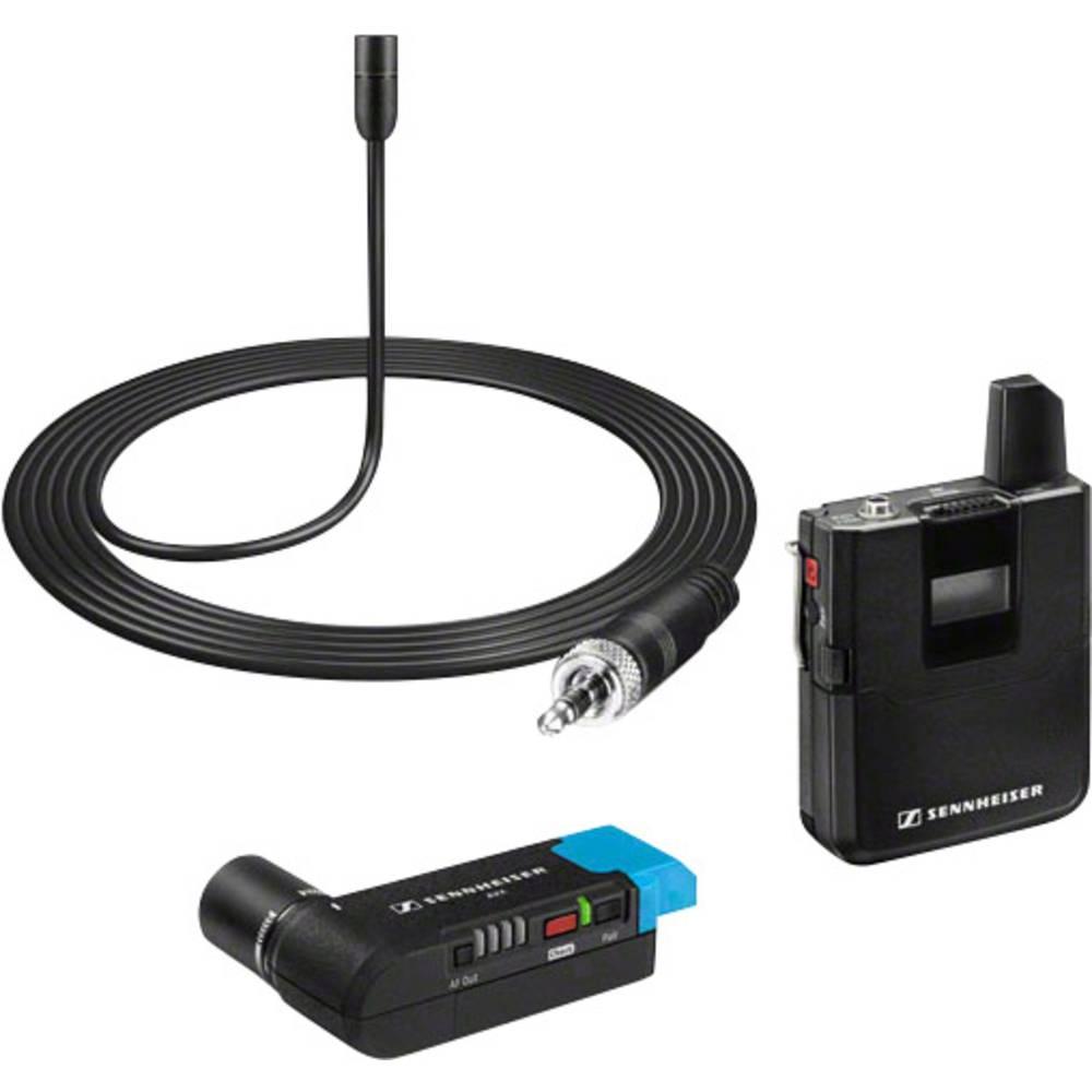 Pripenjalna kamera-mikrofon Sennheiser AVX-ME2 SET-3-EU Funk, vsebuje kabel in sponko