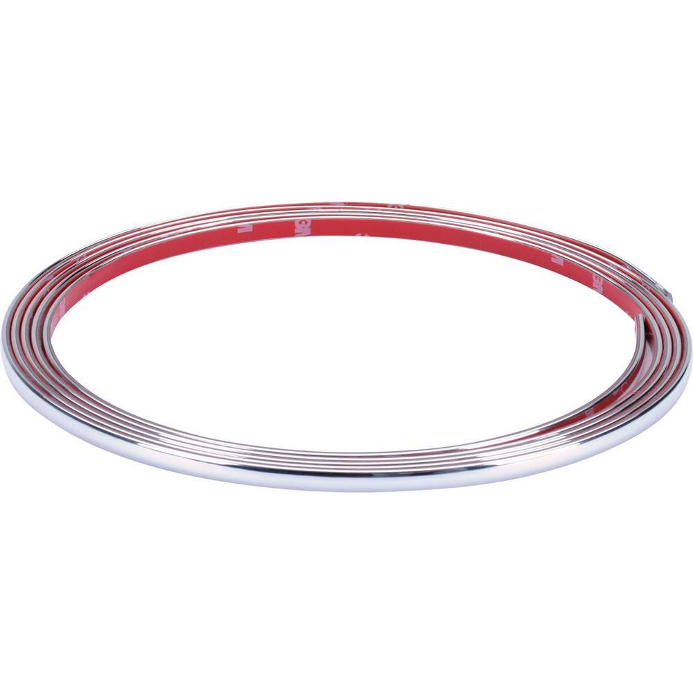 Herbert Richter Chrome trim 3m x 7 mm (L x B) 3 m x 7 mm