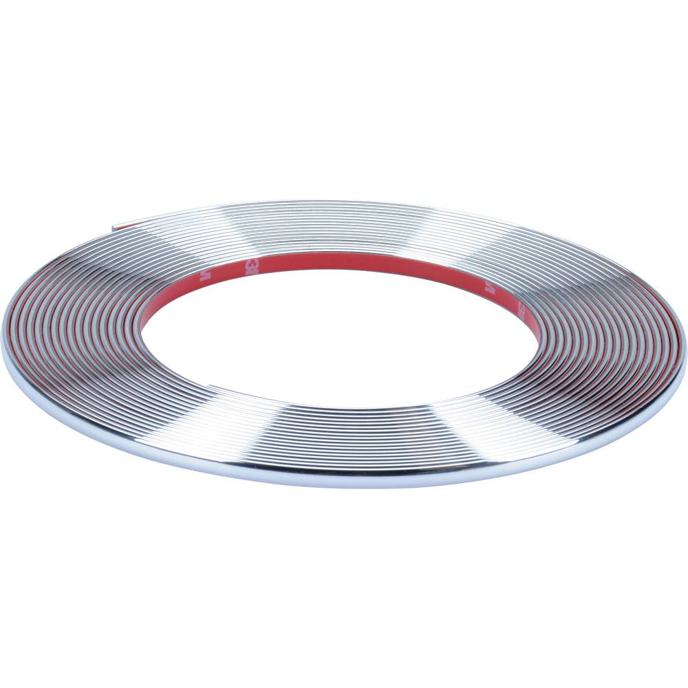 Herbert Richter Chrome trim strimmel 10 m x 7 mm (L x B) 10 m x 7 mm