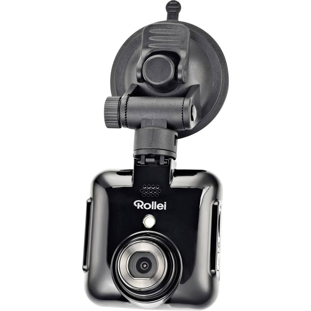 Dashcam Rollei DVR-71 Betragtningsvinkel horisontal=120 ° 12 V Batteri, Display, Mikrofon