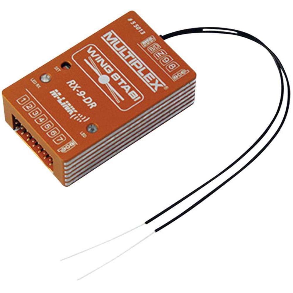 9-kanalni Giroskop za ploskovni model Multiplex Wingstabi 9 DR M-LINK Vklj. sprejemnik