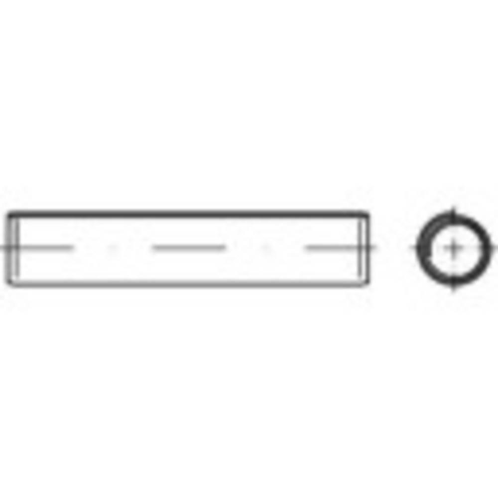 Spiralni vpenjalni zatič (premer x D) 1 mm x 6 mm nerjaveče jeklo TOOLCRAFT 1067675 1000 kosov