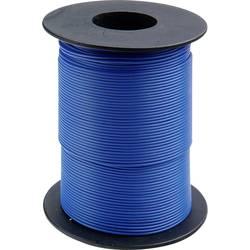 Finožični vodnik 1 x 0.14 mm modre barve BELI-BECO L118/100 modre barve 100 m