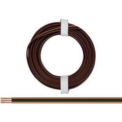 Žica 3 x 0.14 mm svetlo-rjave barve, črne barve, temno-rjave barve BELI-BECO L318/5F 5 m
