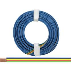 Žica 4 x 0.14 mm zelene barve, rdeče barve, rumene barve, modre barve BELI-BECO L418/5 5 m
