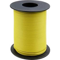 Finožični vodnik 1 x 0.14 mm rumene barve BELI-BECO L118/100 rumene barve 100 m