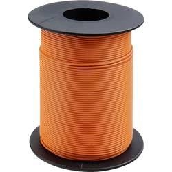 Finožični vodnik 1 x 0.14 mm oranžne barve BELI-BECO L118/100 oranžne barve 100 m