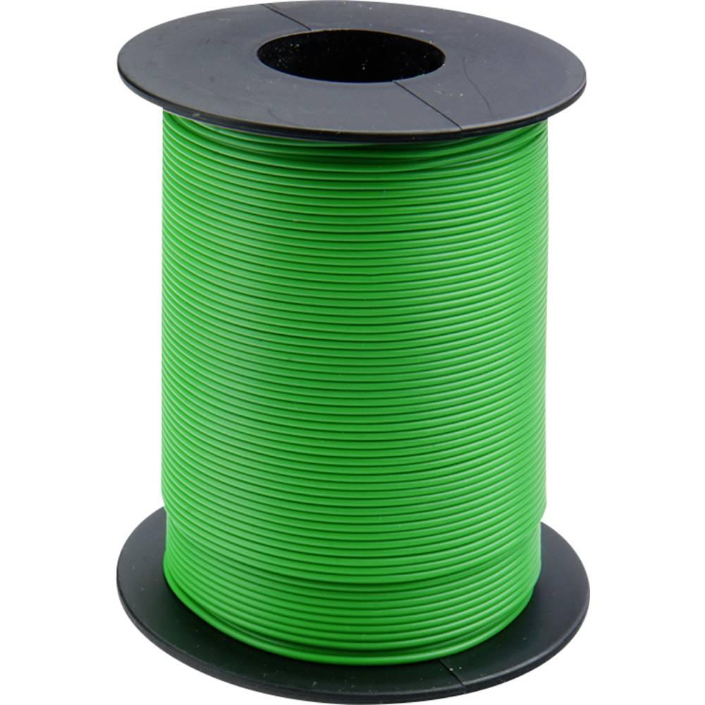 Finožični vodnik 1 x 0.14 mm zelene barve BELI-BECO L118/100 zelene barve 100 m