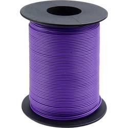 Finožični vodnik 1 x 0.14 mm vijolične barve BELI-BECO L118/100 vijolične barve 100 m