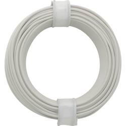 Finožični vodnik 1 x 0.14 mm bele barve BELI-BECO L118/10 bele barve 10 m