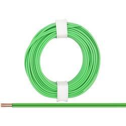 Žica 2 x 0.14 mm zelene barve BELI-BECO L218/5 zelene barve 5 m