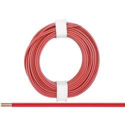 Žica 2 x 0.14 mm rdeče barve BELI-BECO L218/5 rdeče barve 5 m
