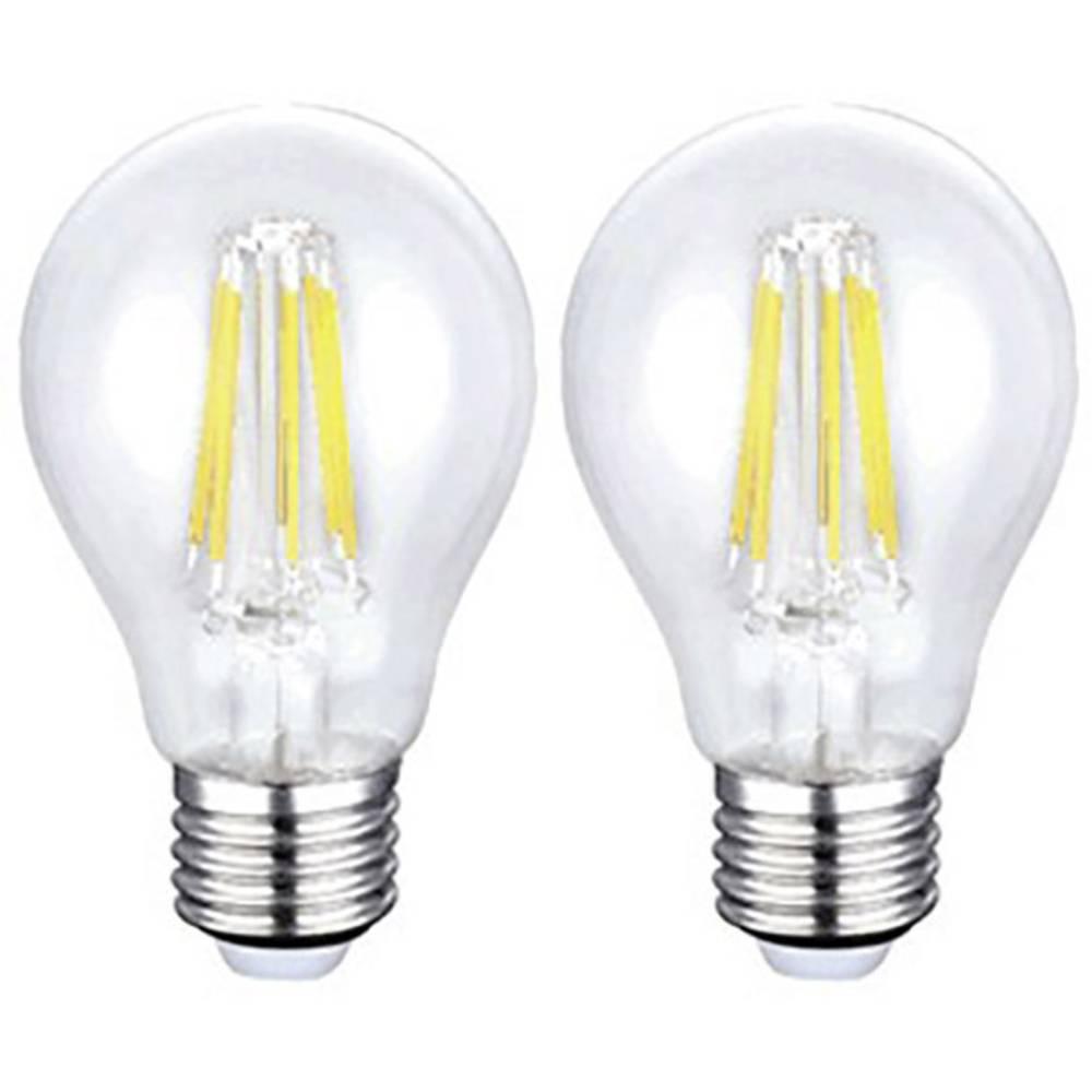 LED žarnica E27 6 W (premer x D) 60 mm x 106 mm EEK: A+ Sygonix 2 kosa