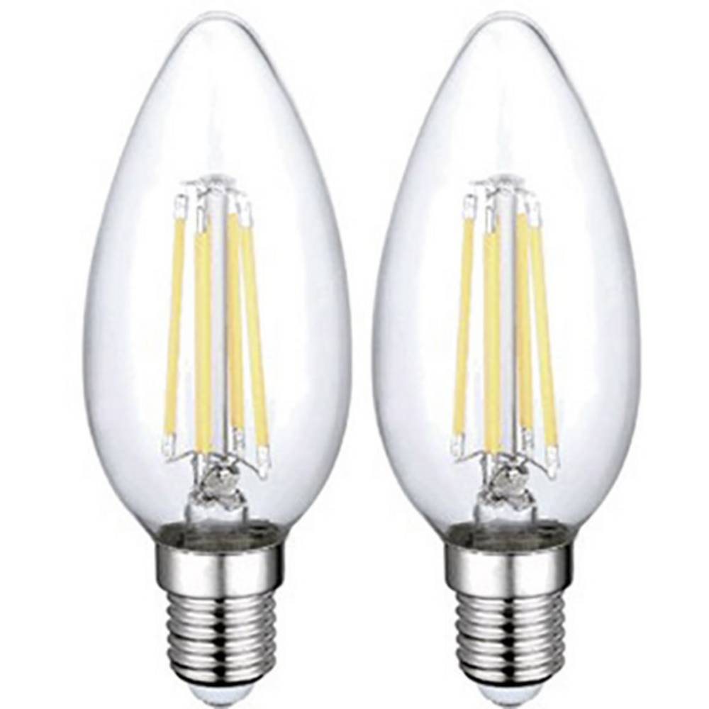 LED žarnica E14 4 W (premer x D) 35 mm x 98 mm EEK: A++ Sygonix 2 kosa