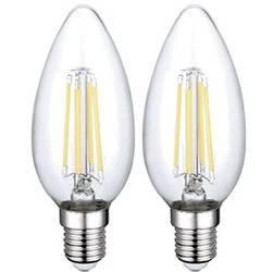 LED E14 Sygonix 4 W 400 lm A++ Varmvit 2 st