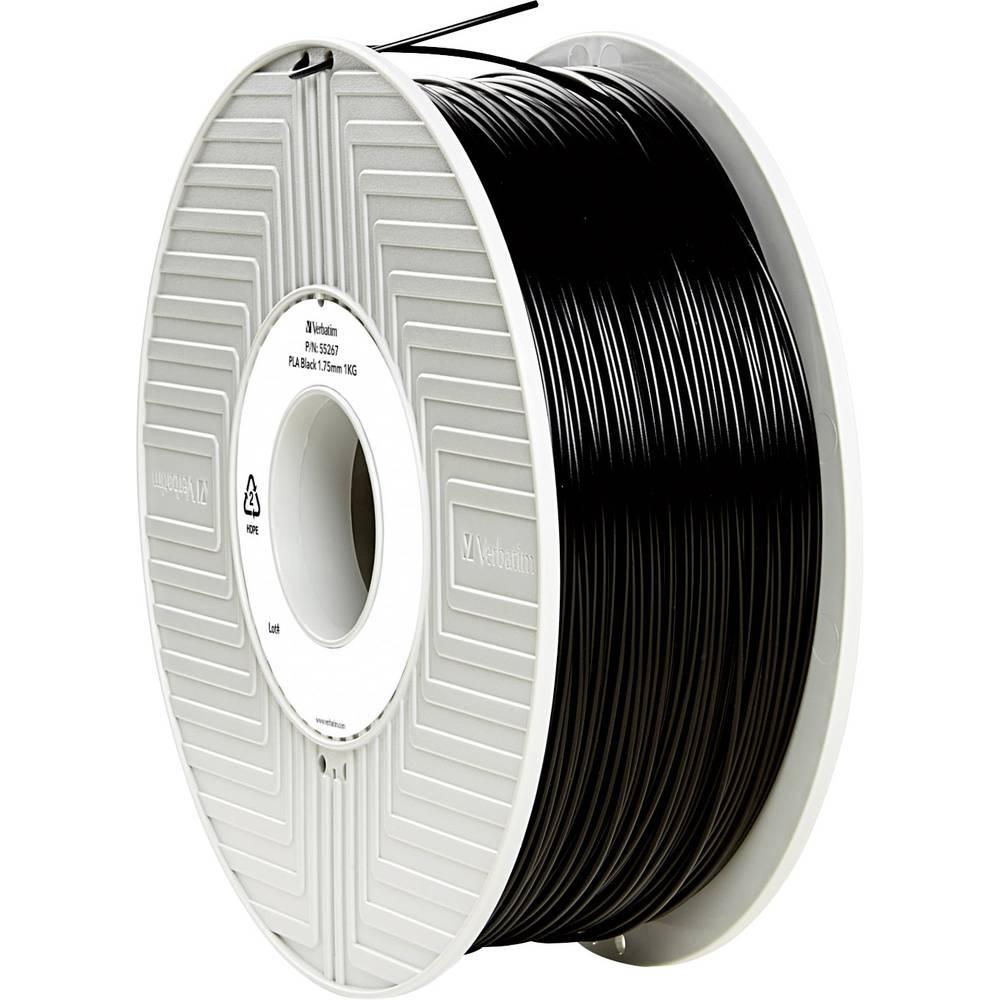 Filament Verbatim 55267 PLA 1.75 mm črne barve 1 kg