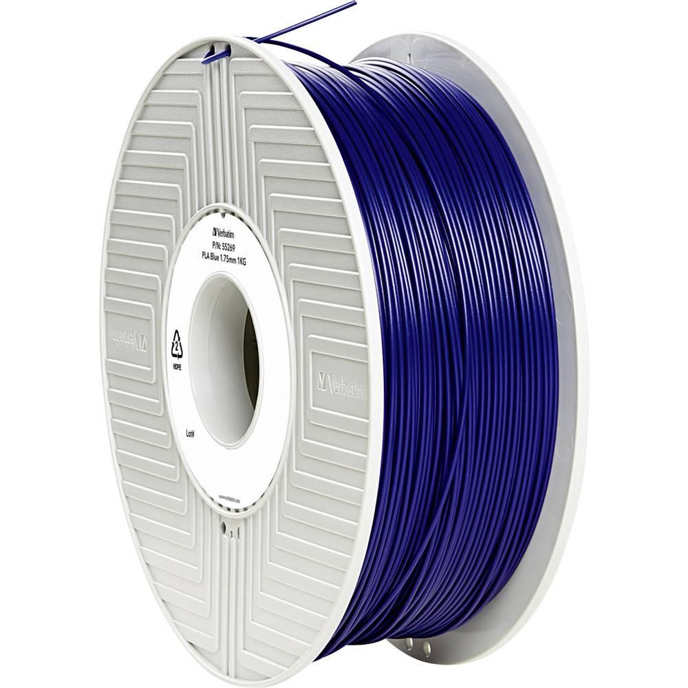 Filament Verbatim 55269 PLA 1.75 mm modre barve 1 kg