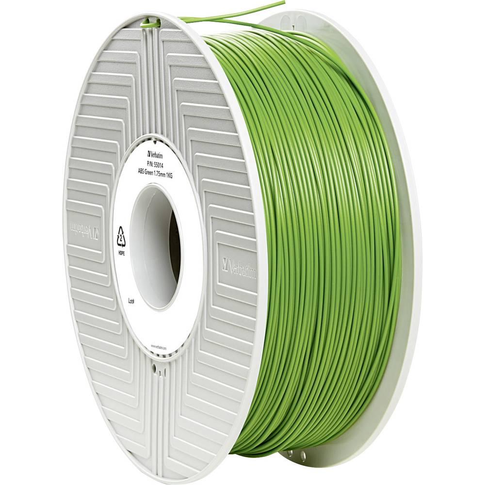 Filament Verbatim 55014 ABS 1.75 mm zelene barve 1 kg