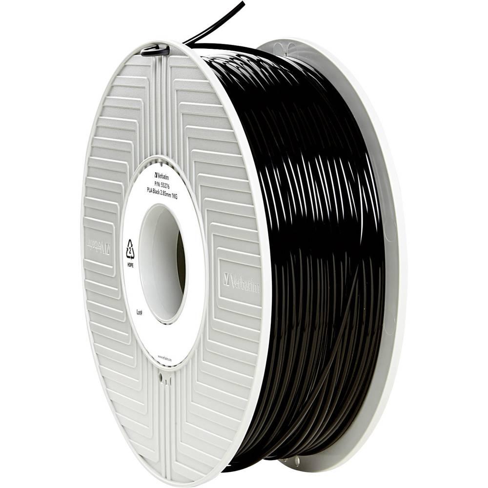 Filament Verbatim 55276 PLA 2.85 mm črne barve 1 kg