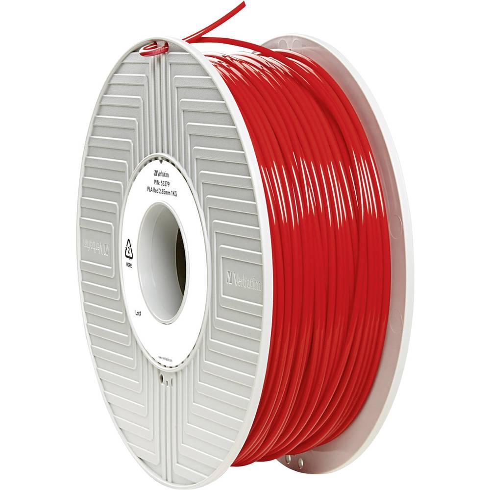 Filament Verbatim 55279 PLA 2.85 mm rdeče barve 1 kg