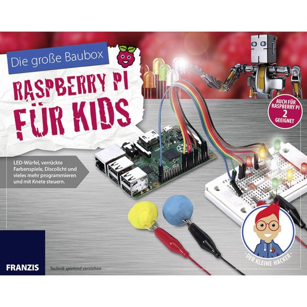 Eksperimentalni komplet Franzis Verlag Raspberry Pi für Kids 65291 Od 14 leta dalje