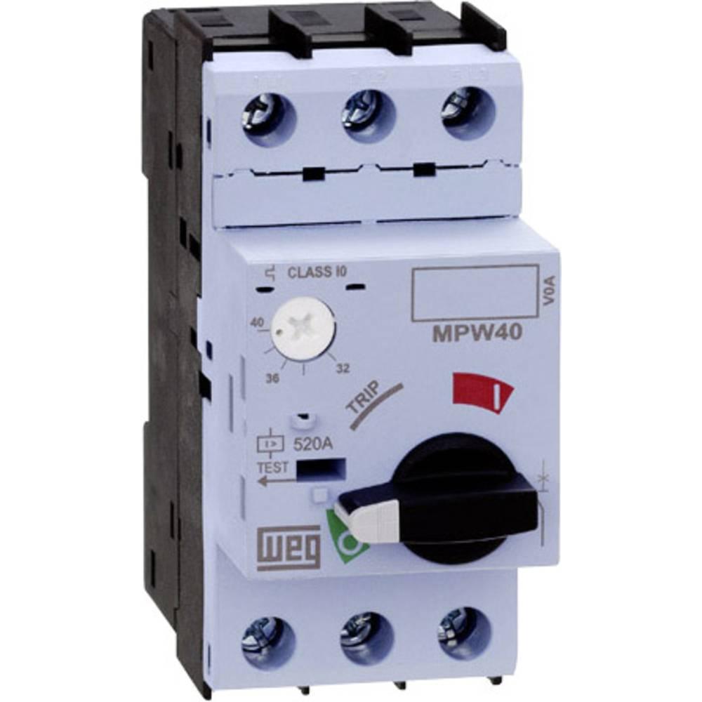Prekidač za zaštitu motora, podesivi 32 A WEG MPW40-3-U032 1 kom.