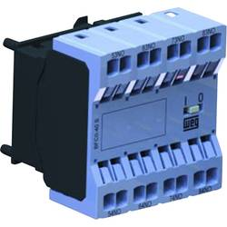 Hilfsschalterblock (value.1429016) 1 stk BFC0-04S WEG 6 A Passer til serie: Weg Serie CWC0 (3-polet)